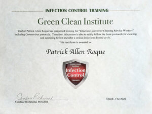 Certified Infection Control Technician